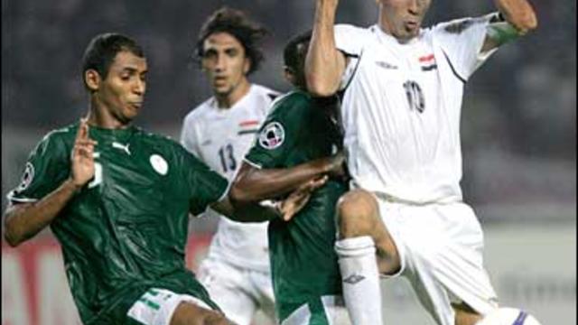 Iraq vs. Saudi Arabia in the Asian Cup