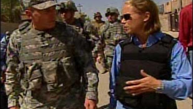 Katie Couric and David Petraeus