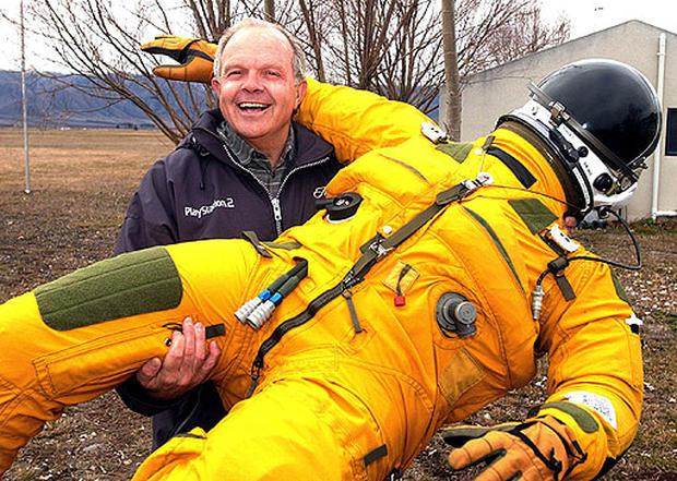 Adventurer Steve Fossett