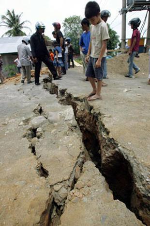Indonesia Shaken