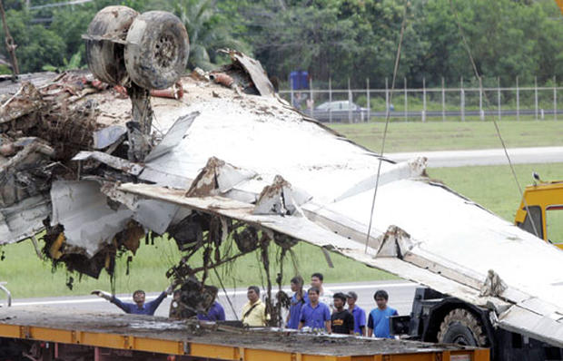 Plane Crashes In Thailand