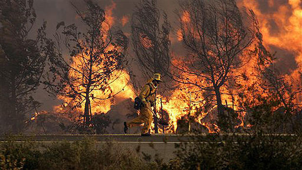 Fires Rage Across SoCal