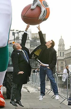 NFL Tackles London