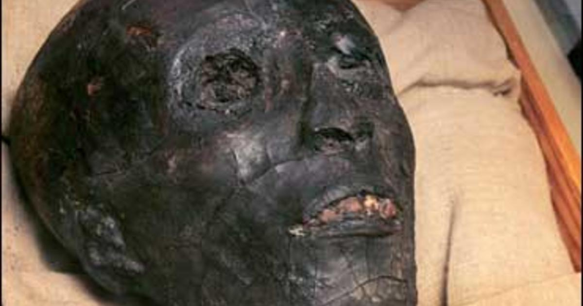 King Tut Unmasked - Photo 1 - Pictures - CBS News
