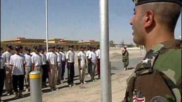 Iraqi's training