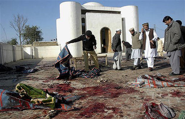 Pakistan Mosque Bombed