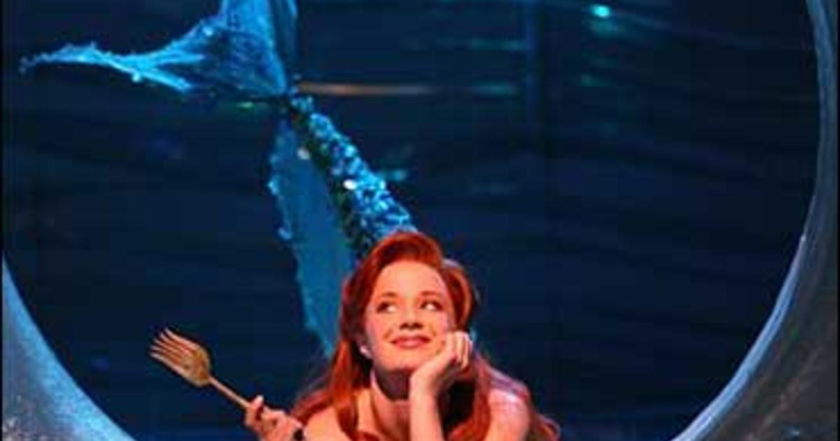 Quot The Little Mermaid Quot Plunges Into Role Cbs News
