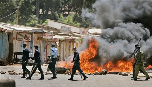 Violence Grips Kenya