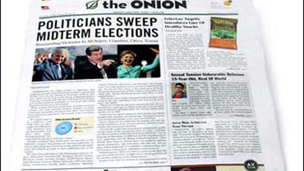 The Onion newspaper