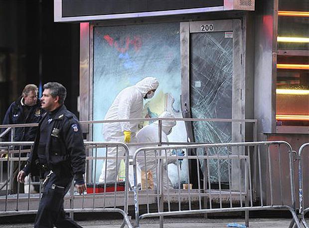 Blast Rattles Times Square