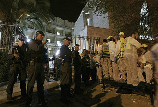 Jerusalem Seminary Shooting