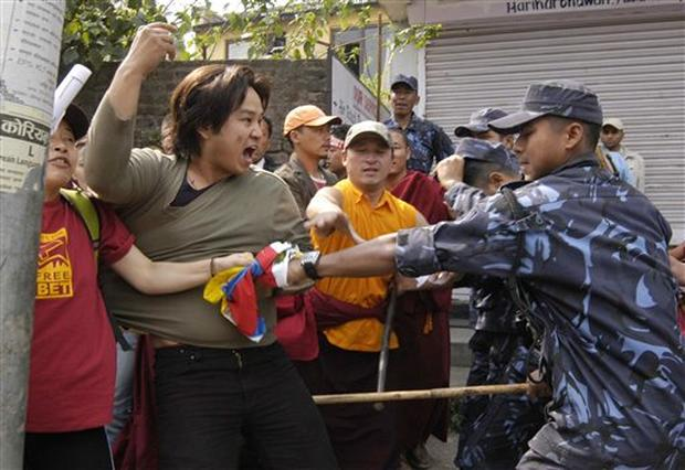 Tibet Protests Throughout  Asia