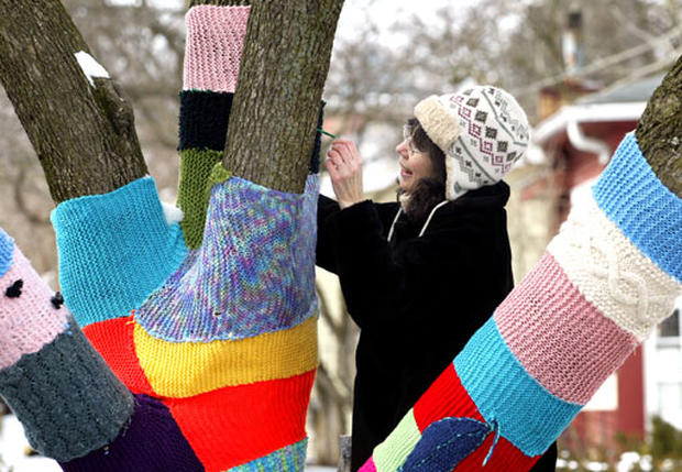 Knit Knot Tree