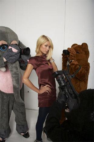 Paris Hilton Goes Wild