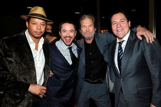 """Iron Man"" In Gotham"