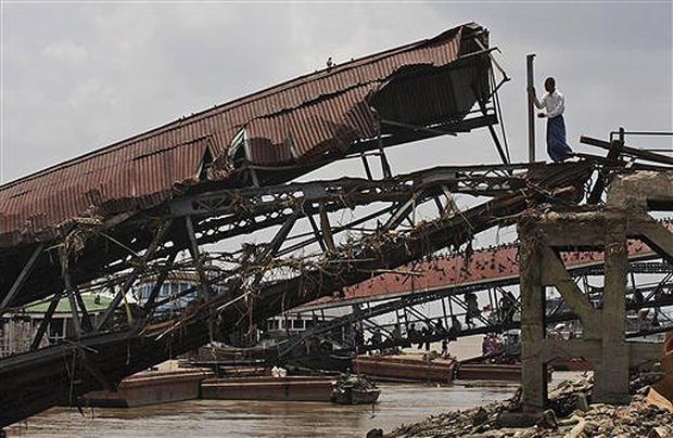 Myanmar Devastation