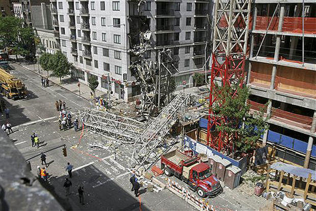 Another NYC Crane Collapse