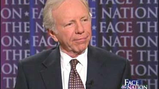 "Sen. Joe Lieberman, I-Conn., on ""Face The Nation"""