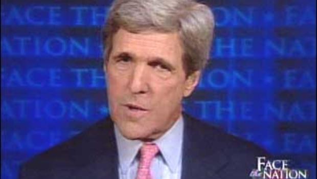 """Sen., John Kerry, D-Mass., on """"Face The Nation."""""""