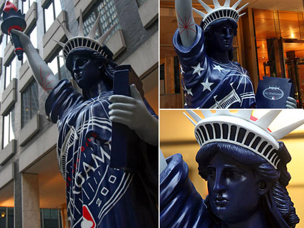 Statues Of Liberty On Parade