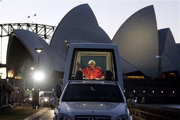 Pope Journeys Down Under