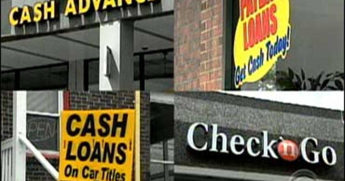 Part Ii Payday Loan Investigation Cbs News