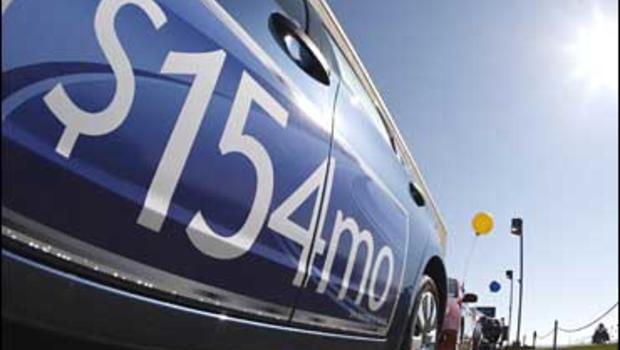 Sunday Car Lease Advertising