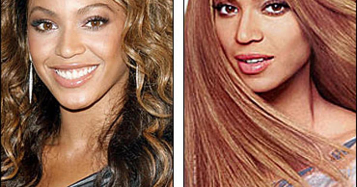 Cosmetics Giant Denies Beyonc Whitewash Cbs News