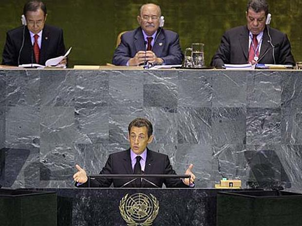 Sarkozy Feted In New York