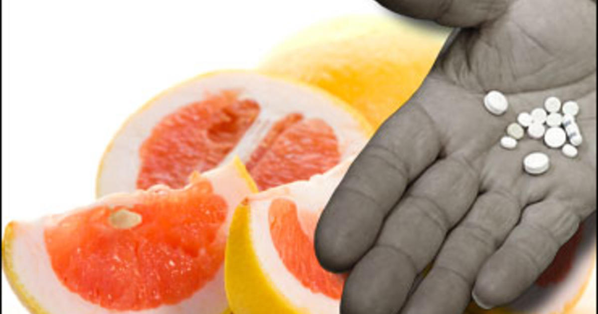 Foods And Meds You Shouldn't Mix - CBS News