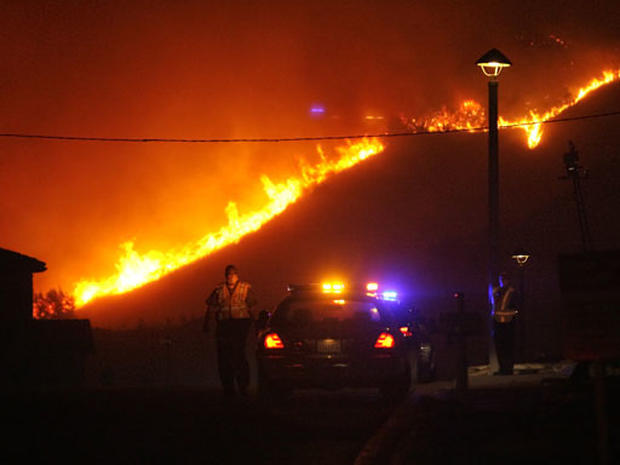 Wildfires Char SoCal