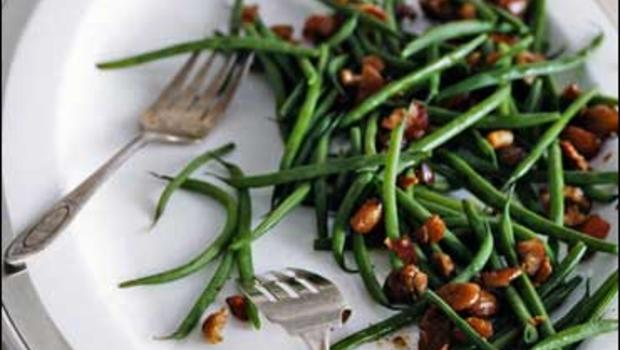 02574568d492 Haricots Verts With Bacon And Chestnuts - CBS News