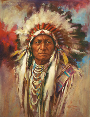 sitting bull auction of western art pictures cbs news. Black Bedroom Furniture Sets. Home Design Ideas