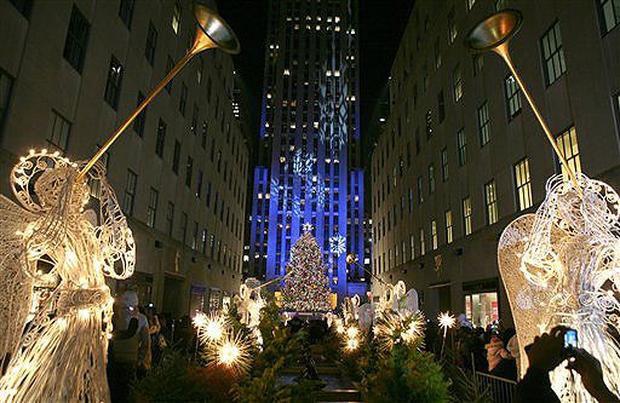 Rockefeller Center Sparkles