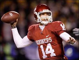 Oklahoma Quarterback Sam Bradford