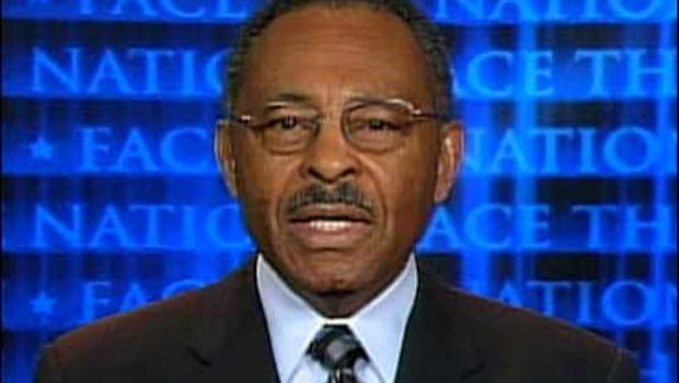 """Roland Burris on """"Face The Nation."""""""