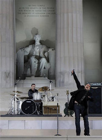 Lincoln Memorial Concert