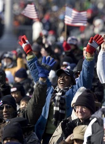 Inauguration Crowds