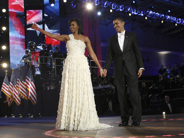 Mrs. Obama's best evening looks