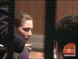 Amanda Knox, on trial for murder in Perugia, Italy