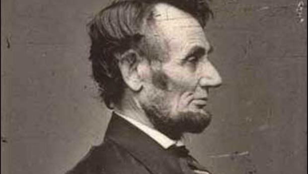 Abraham Lincoln, photographed by Anthony Berger in 1864.