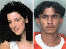Chandra Levy and her alleged killer Ingmar Guandique