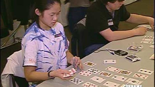 Competitors at the USA National Memory Championship