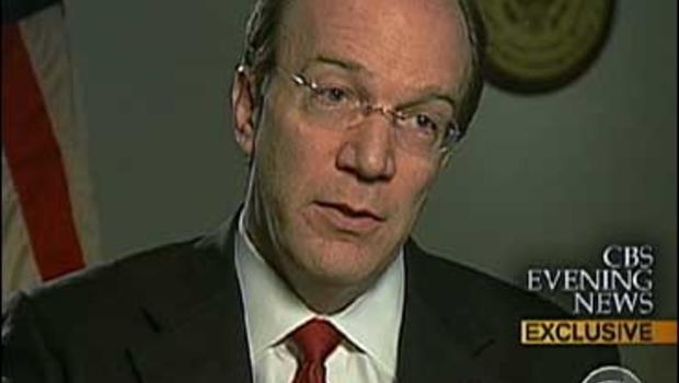 Stuart Bowen, the Special Inspector General for Iraq Reconstruction