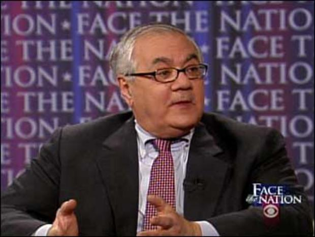 """Rep. Barney Frank, D-Mass., on """"Face The Nation,"""" March 22, 2009."""