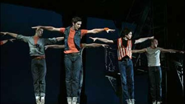 """A scene from the revival of the musical """"West Side Story"""""""