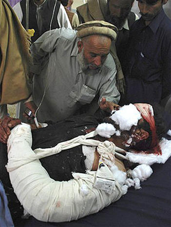Pakistan Mosque Blast