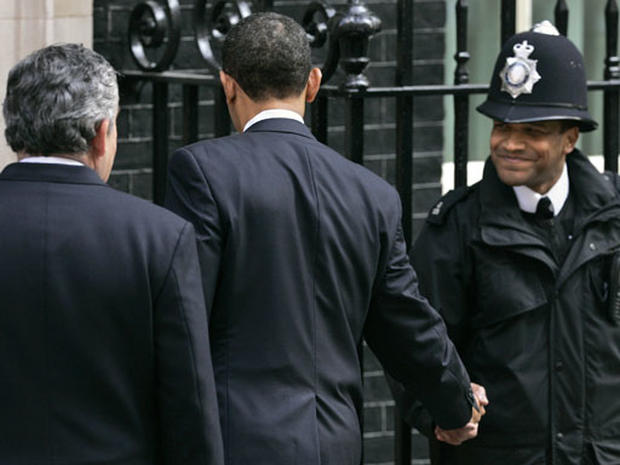 Barack Obama In London