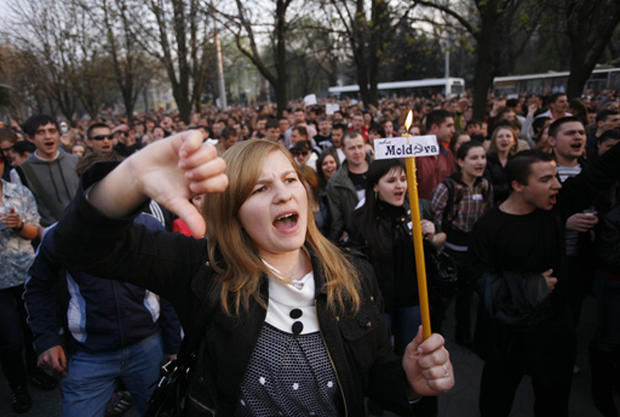 Anti-Communist Protests In Europe