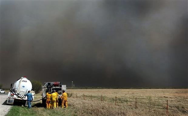 Texas And Oklahoma Scorched